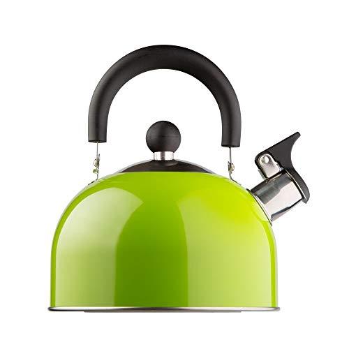 Flötenkessel Trend Color grün 2 l