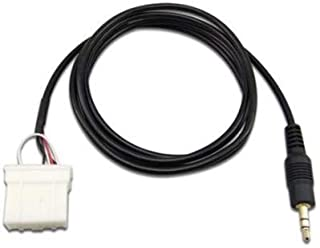 Goliton AUX 3.5mm Cable Connect iPod iPhone MP3 Phone Audio to Mazda Car Player (2 Meter Long)