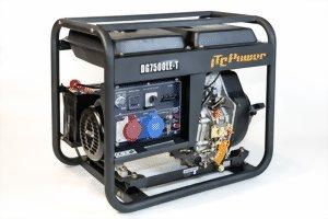 ITC 7800LE-T - Generador de corriente (8 kVA 230, 400 V)