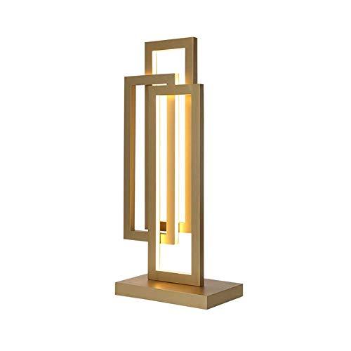 HFA Lampe de Table Simple Moderne Creative Led Lecture Chambre Lampe de Bureau Nuit Villa Bureau
