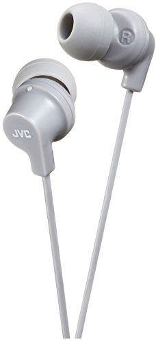 Oferta de JVC HA-FX10-H-E - Auriculares de Tipo Interno con Sonido Potente, Gris