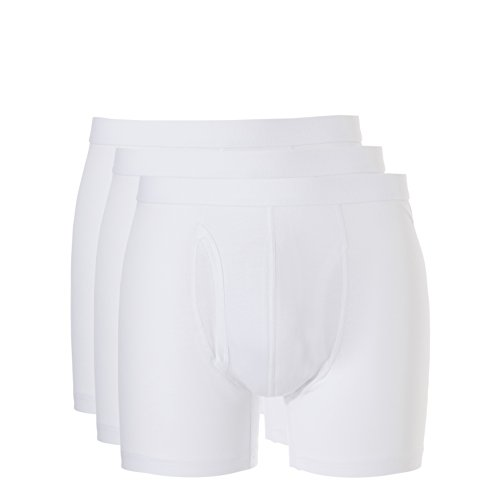 Ten Cate Heren Boxershorts Retroshorts Basic 3-Pack - katoenmix (TC-30223)