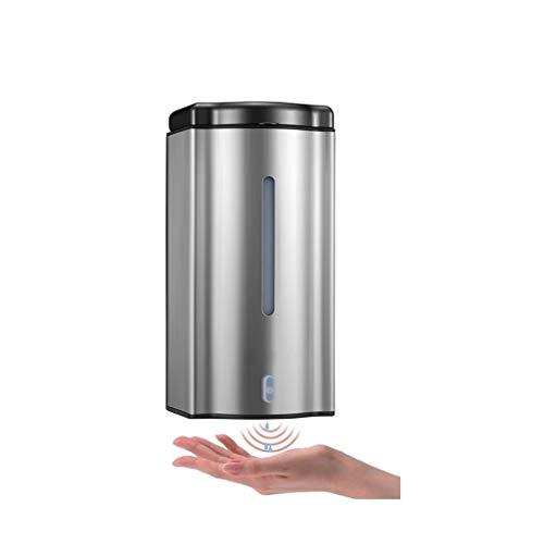 hongbanlemp Household Dispensador de Jabón Dispensador de jabón automático 600ML dispensador de jabón de Acero Inoxidable tamaño 10 * 9 * 20 CM Dispensador de Loción
