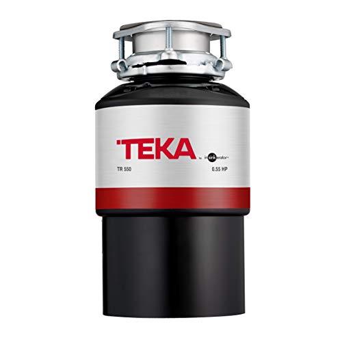 Teka 115890013 TR 550-Triturador de Basura-Trituradora de Alimentos y desperdicios para desagüe de Fregadero, Negro