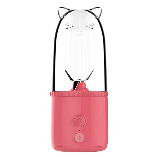 TYI -Licuadora Portátil Mini Licuadora Personal con Carga USB, Licuadora Batidora Batidora Batidora Taza Exprimidora BPA Inalámbrica, 17 Oz / 500 Ml, Viajes Al Aire Libre En Casa
