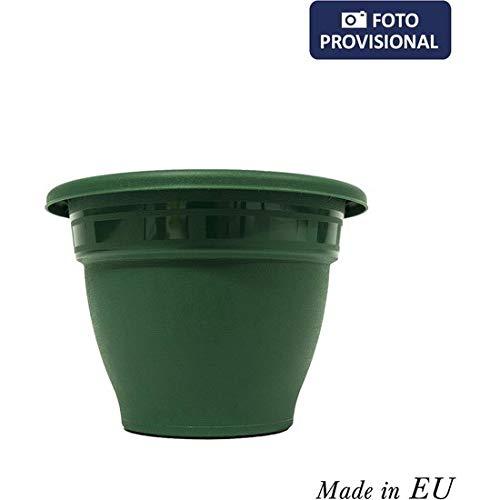 Squares 49652 bloempot, groen, 14 cm