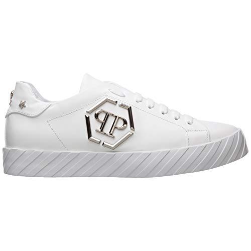 Philipp Plein Hombre Original Zapatillas White