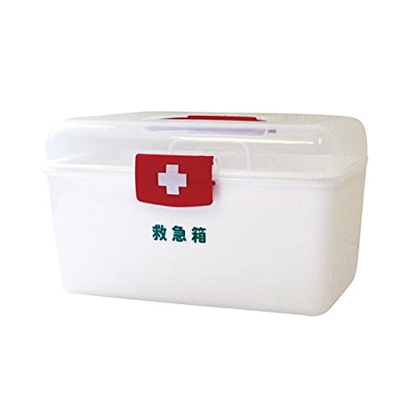 記事埋める役に立たないリーダー ポリ救急箱セット Mサイズ 782498