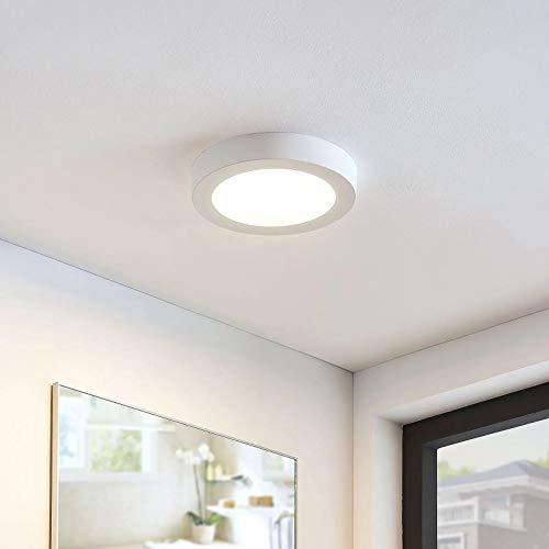 DLLT Deckenleuchte Rund Led Modern, 12W LED Deckenlampe Flache, Panel 170mm 960 Lumen 3000K Warmweiß für Wohnzimmer, Schlafzimmer, Kinderzimmer,Küche, Flur, Keller, Balkon (Nicht Dimmbar)