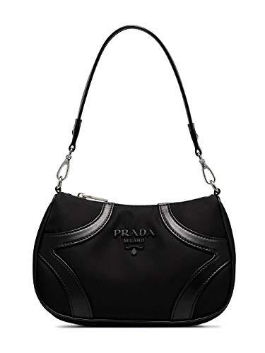 Luxury Fashion | Prada Dames 1BC130VOSO2EUWF0002 Zwart Leer Handtassen | Lente-zomer 20
