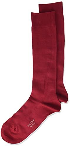 FALKE Unisex Kinder Family K KH Socken, Rot (Autumn Red 8030), 35-38 (9-12 Jahre)