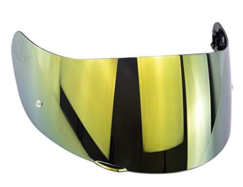 Visera Agv K3 sv K1 K5 K5s s4-sv Horizon Skyline Stealth Numo Casco Todos Los Tamaños Pantella No Original Aftermarket (Iridium Oro)