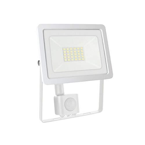 SpectrumLED Noctis Lux 2 Projecteur 20 W Blanc avec capteur de mouvement, couleur de lumière au choix 4000 K blanc neutre.