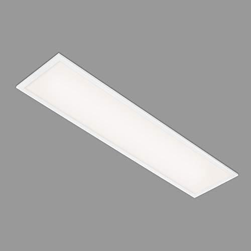Briloner Leuchten - LED Panel, LED Deckenleuchte, Deckenlampe 22 Watt, 2.200 Lumen, 4.000 Kelvin, Weiß, 1.000x250x60mm (LxBxH), 7067-016