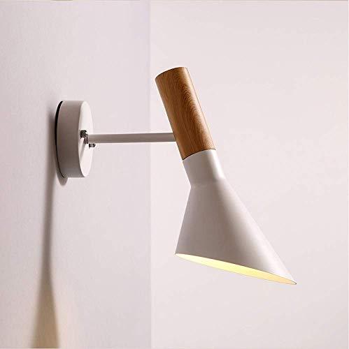 YLCJ binnenwandlampen industriële wandlampen van smeedijzer van industrieel Macaron aluminium, wit