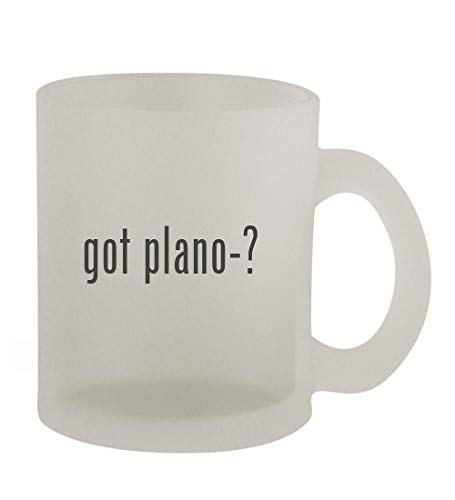 got plano-? - 10oz Frosted Coffee Mug Cup, Frosted