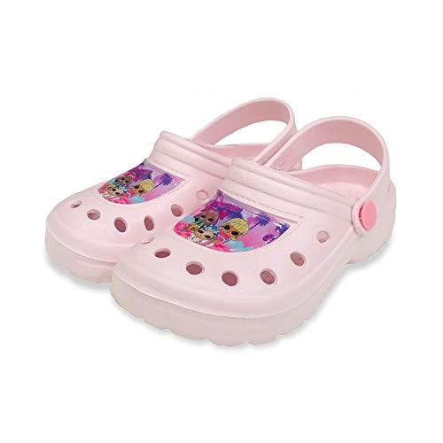 NADA HOME Pantofole LOL Surprise Ciabatte per Ragazza Bambina Zoccoli Clog 3146