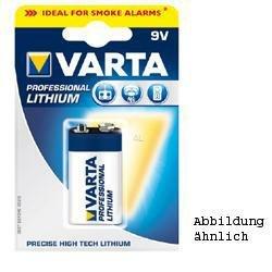 Varta professional 6AM6/9 v lithium 9Volt 1200mAh lithium