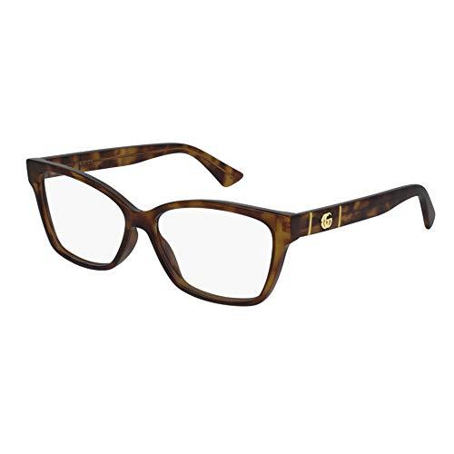 Gucci GG0634O-002 55 Optical Frame WOMAN INJEC Occhiali da lettura, Multicolore, 0 Unisex-Adulto