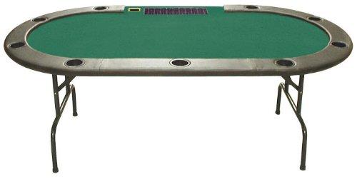 Trademark Poker 96-Inch Hold'em Table with Dealer Position