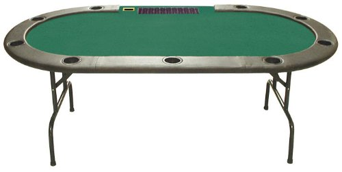 Trademark Poker 96-Inch Hold'em Table with Dealer Position