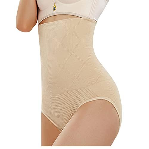 Panty de Cintura Alta, Fajas de Levantamiento de glúteos para Mujeres, Fajas de Control de Abdomen (Skin,3XL)