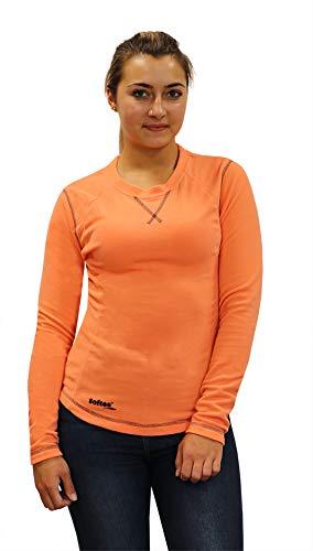 Softee T-Shirt pour Femme S Noir/Fuchsia