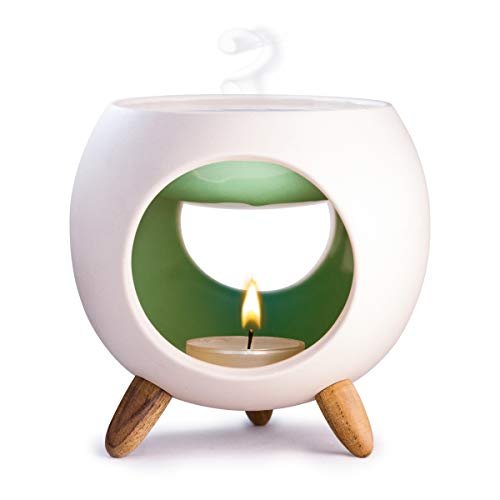 Kaloogo Sabai Scent Keramik Duftlampe rund (Duftlicht) - Mint