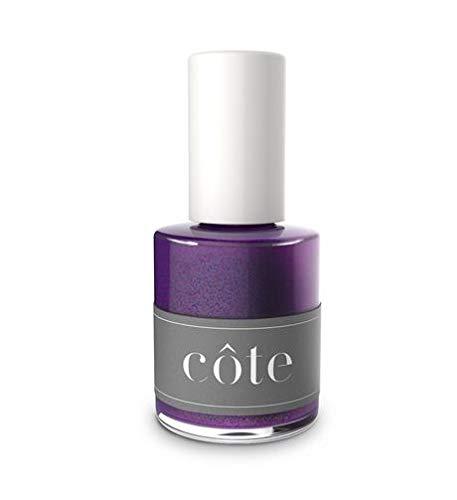 Cote Toxin Free Nail Polish (No. 106 Blue and Purple Mix (Shimmery))