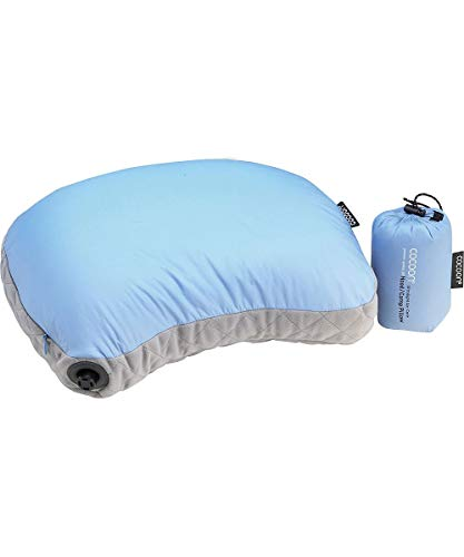 Cocoon Air-Core Hood/Camp Pillow ultralight - light blue