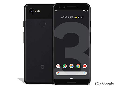 国内版SIMフリー Google Pixel3 64GB Just Black