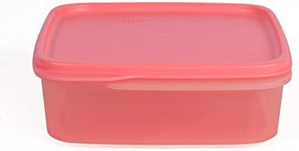 Tupperware Square Smart Saver Container, 1.2 Litres, Color may v