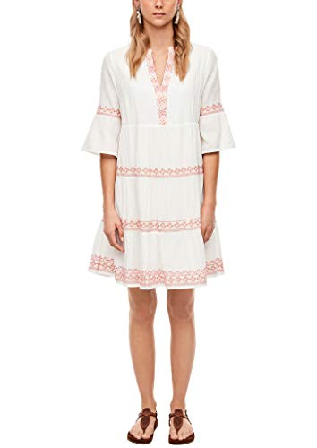 s.Oliver Damen  Sommerkleid Kleid,  0210 Cream,  M