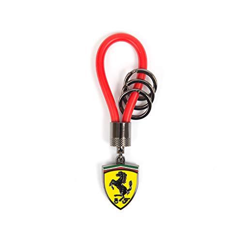 Scuderia Ferrari Formula 1 - Llavero con correa de goma, color rojo