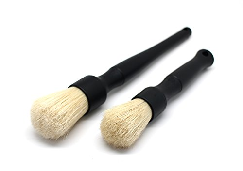 Detail Factory Boar Detailing Brush Set (Black)