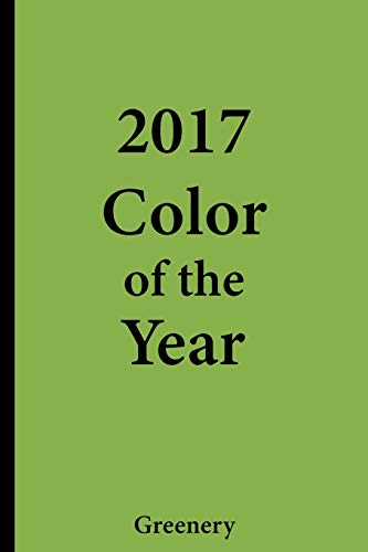 2017 Color of the Year - Greenery: College Ruled Notebook