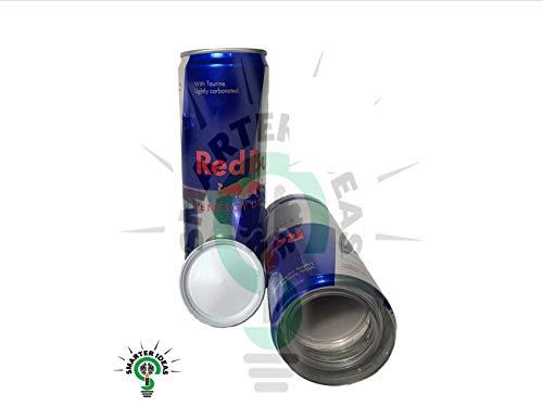 Fake Red Bull 8.4 oz lata de seguridad secreto de desviación Stash Safes con almacenamiento oculto para ocultar dinero joyas cualquier cosa Plus libre olor a prueba de Mylar bolsa