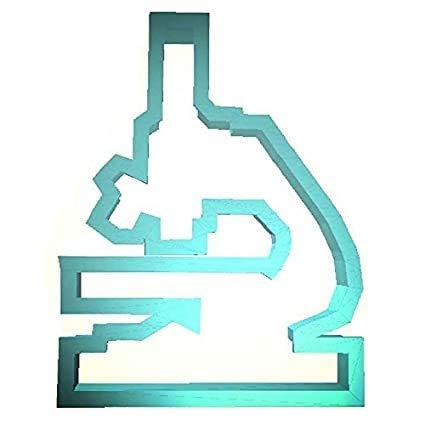 Microscope Plast-Clusive Cookie Cutter 4' Pc0292