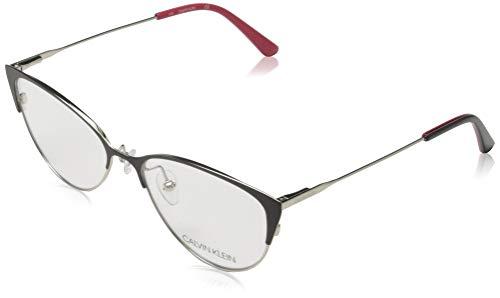 Calvin Klein CK18120 Metalen zonnebril, satijn indigo, uniseks, volwassenen, meerkleurig, standaard