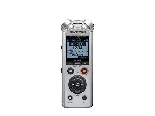 Olympus PCM LS-P1 - Grabador de sonido digital portátil, color gris