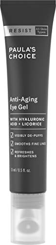 Paula's Choice RESIST Anti-Aging Eye Gel, Hyaluronic Acid, Puffy Eyes,...