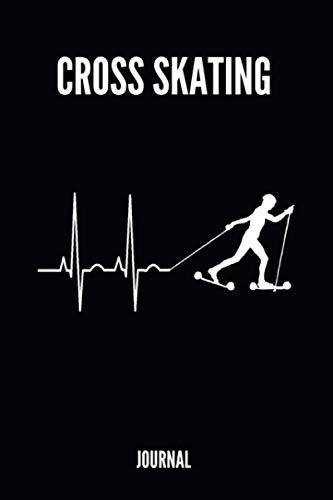 Cross Skating Journal: Trainingsplaner - Rollerski - Skiroller - Nordic Skating - 110 linierte Seiten A5 Taschenformat