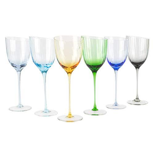 Juego de copas de vino sin vaso – Twisted