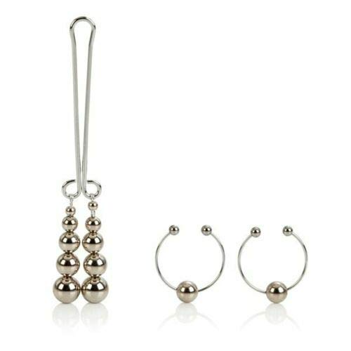Non-Piercing Nipple Ring Safe Clịtoral Body Jewelry
