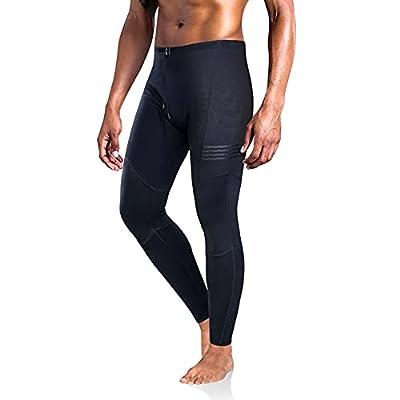 CtriLady Men Wetsuit Pants 1.5mm Surfing Legging Neoprene Fitness Long Pant