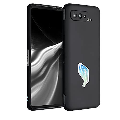 kwmobile Hülle kompatibel mit Asus ROG Phone 5 - Hülle Silikon - Soft Handyhülle - Handy Hülle in Schwarz matt