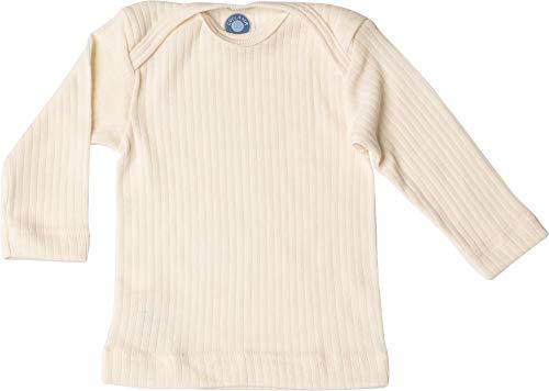 Cosilana, Baby Schlupfhemd Langarm, 45% KBA Baumwolle 35% kbT Wolle, 20% Seide (62/68, Natur)