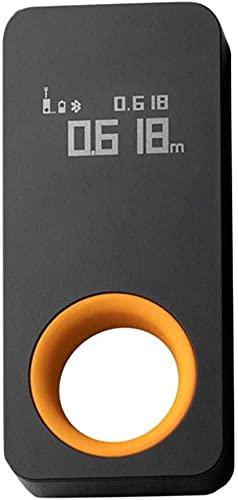 HOTO Telémetro láser inteligente, telémetros láser con pantalla OLED Medición inteligente, conectado a la aplicación Mijia