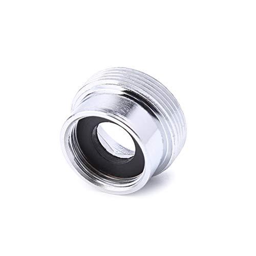 bobeini Adaptador de Metal sólido Rosca Interna Ahorro de Agua Grifo de Cocina Grifo Conexión de aireador Plata