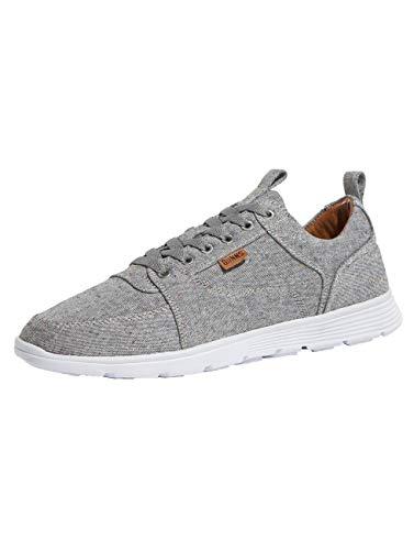 Djinns Herren Schuhe/Sneaker For Low Spotted Linen Grau 44